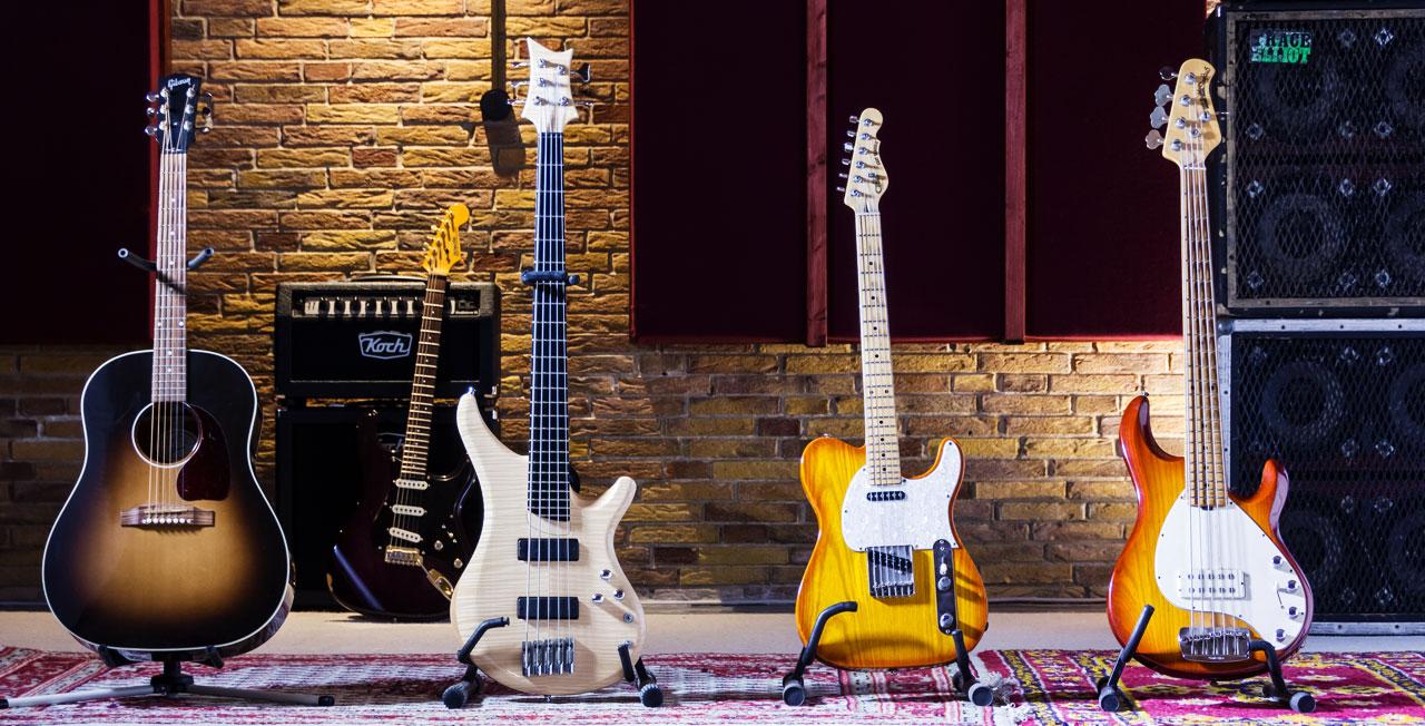Cliffstudio Gitarren