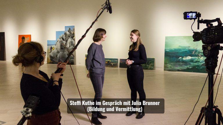 Steffi Kuthe und Julia Brummer Landesmuseen SH